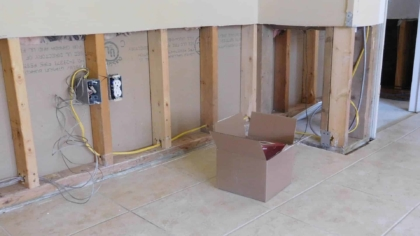 drywall removed after basement flood, but not in florida unless you're hiring a public adjuster